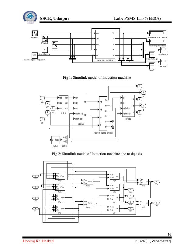 Power System Modeling and Simulation lab manual