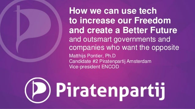 How we can use tech to increase our Freedom and create a Better Future and outsmart governments and companies who want the...