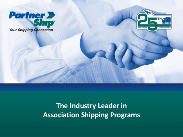 The Industry Leader in Association Shipping Programs
