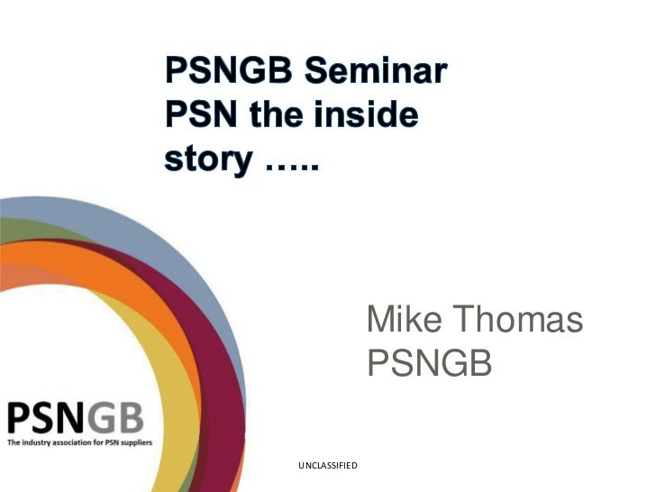 Mike Thomas               PSNGBUNCLASSIFIED