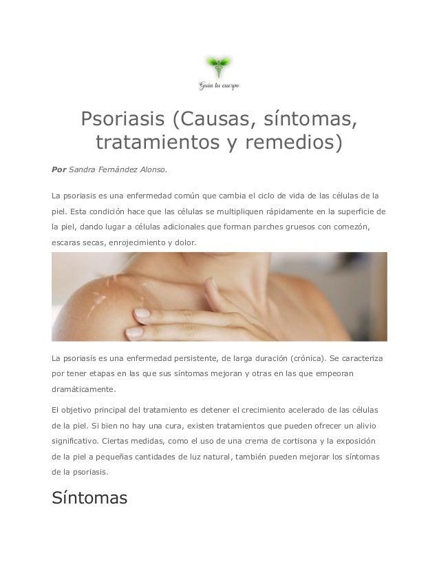 Como usar el sol a la psoriasis