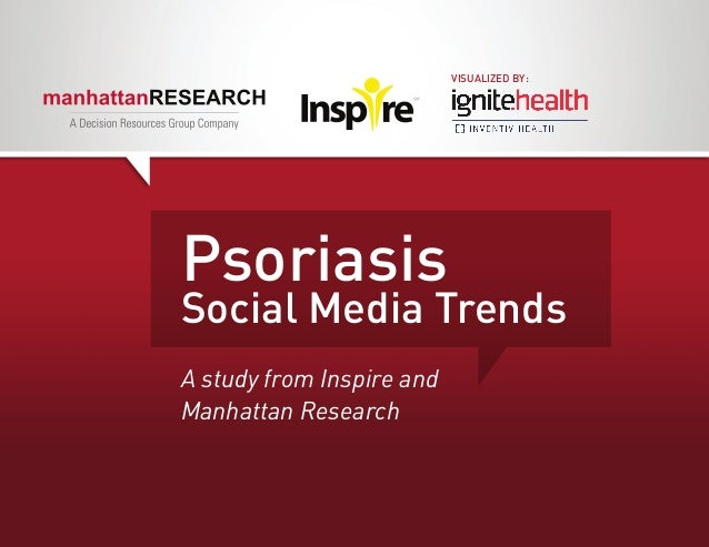 VISUALIZED BY:PsoriasisSocial Media TrendsA study from Inspire andManhattan Research