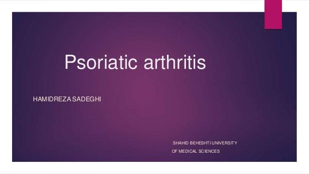 Psoriatic arthritis.
