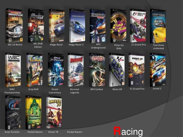 Psp Game Collections