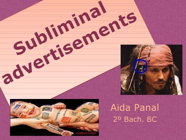 Subliminal examples
