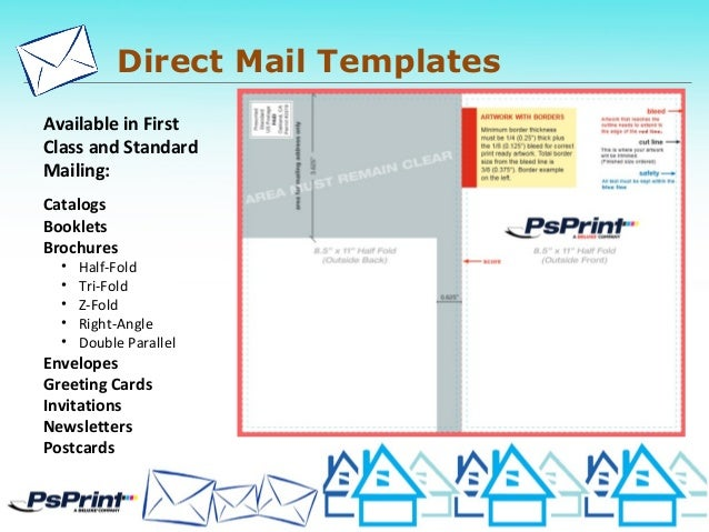 24 direct mail templates