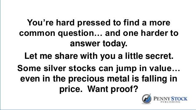 Silver Mining Stocks and Zombies…