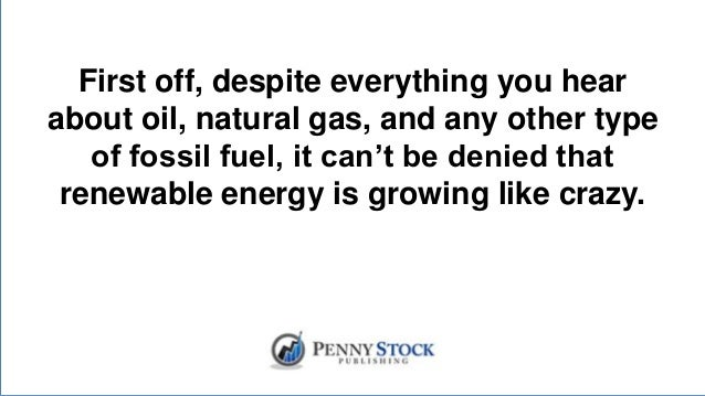 Natural Gas Penny Stocks