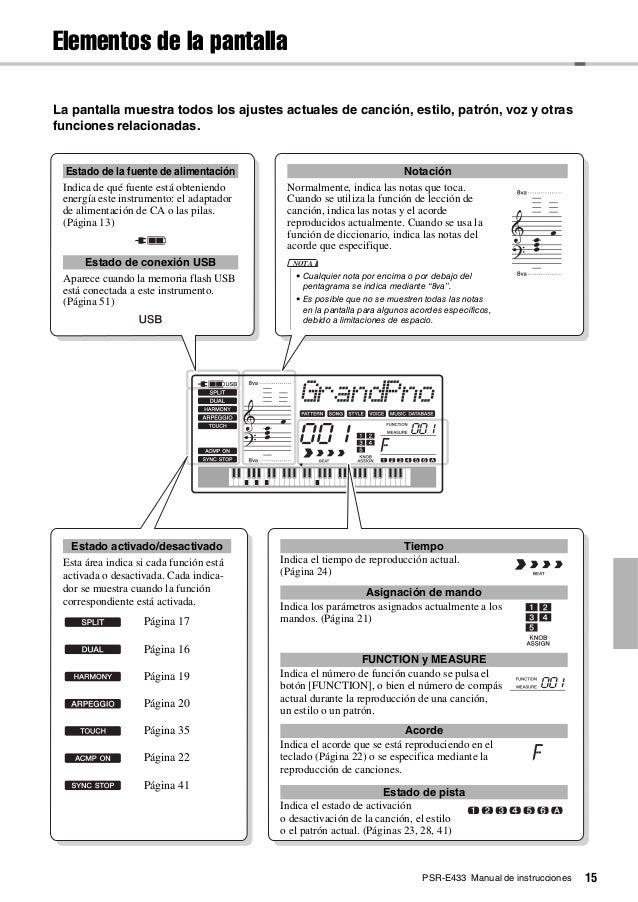 Manual teclado yamaha psr-e443 em português (arquivo pdf) r$ 19.