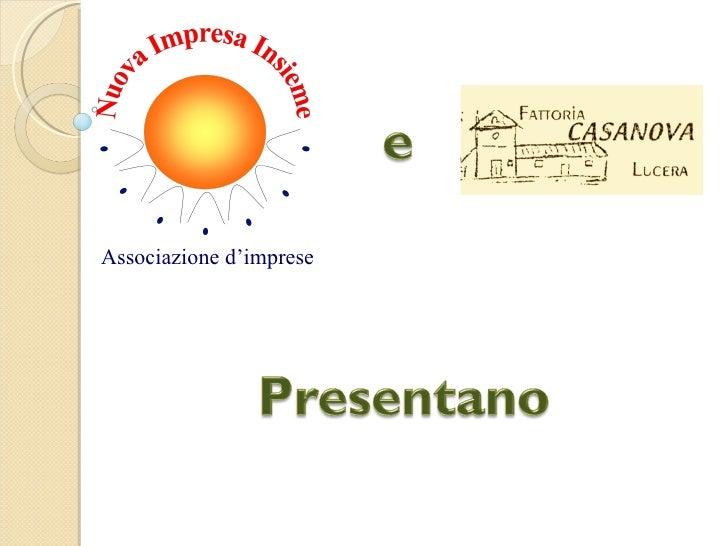 Associazione d'imprese
