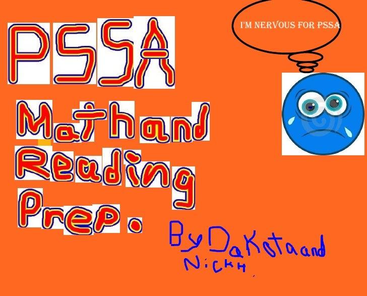 I'm nervous for PSSA
