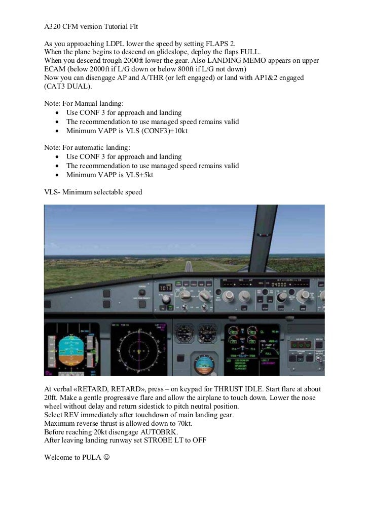 pss airbus a320 flight tutorial rh slideshare net
