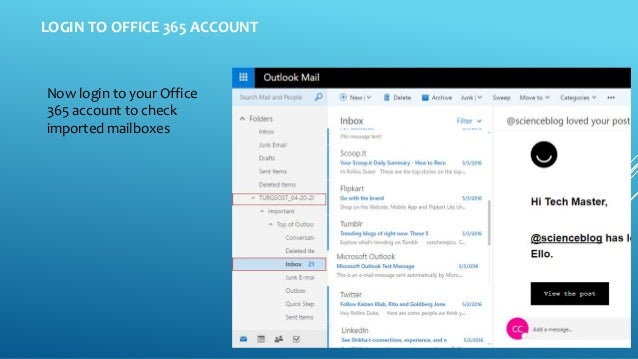 How to Import PST to Office 365 Webmail Account?