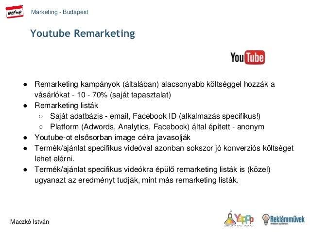 Youtube for remarketing - Marketing Budapest Meetup 2015 febr 24 Slide 2
