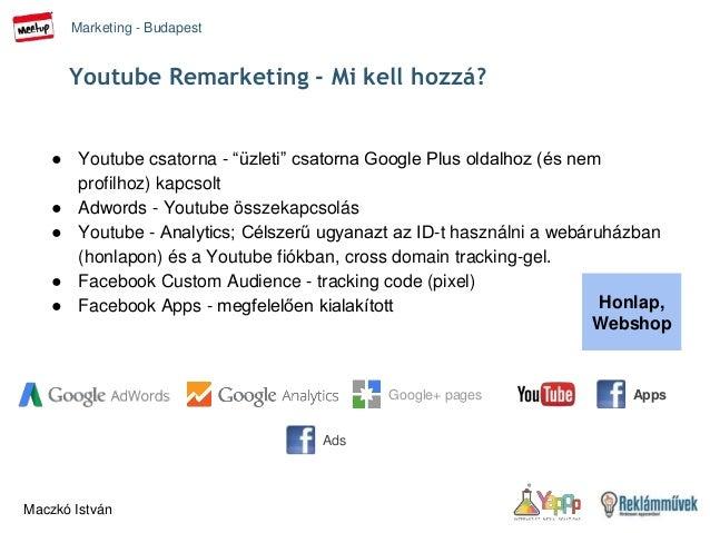 Youtube for remarketing - Marketing Budapest Meetup 2015 febr 24 Slide 3