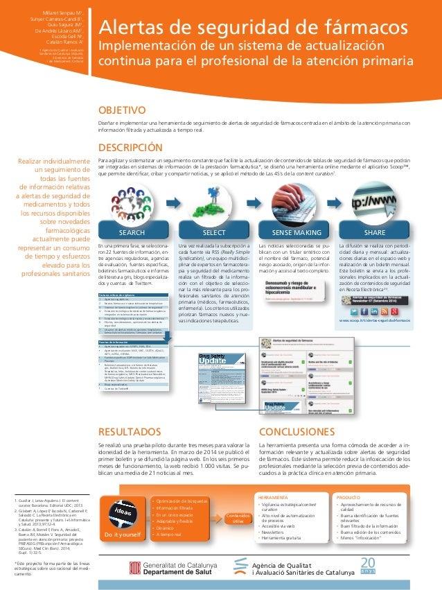 Alertas de seguridad de fármacos Implementación de un sistema de actualización continua para el profesional de la atención...