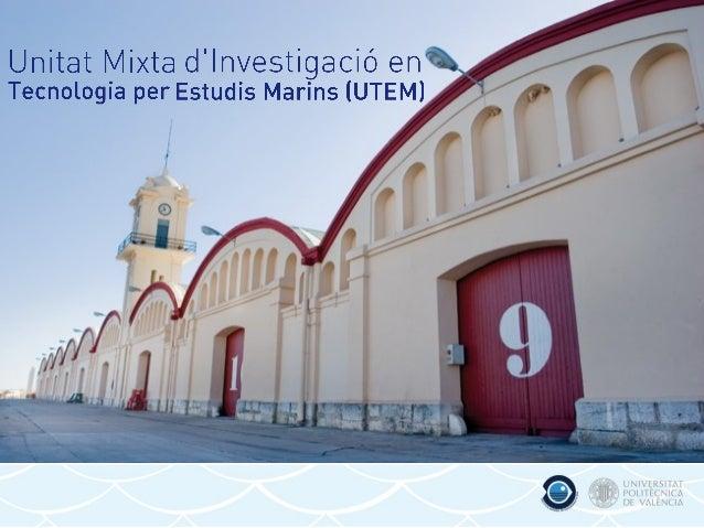 Pósteres científicos Unidad de Tecnología para Estudios Marinos