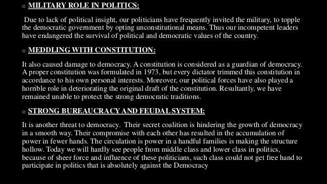 causes of feudalism in pakistan