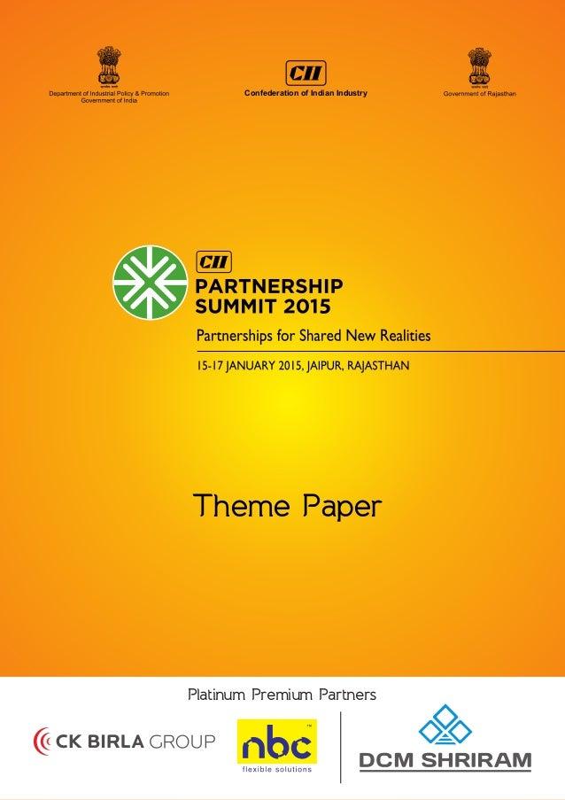 1. Understanding 'Shared New Realities' 1 2. Emerging Economies Balancing Global Growth 3 Emerging Economies Advance Sha...