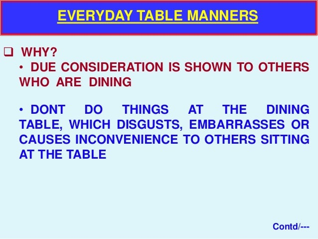 Mess etiquette and Table Manners : mess etiquette and table manners 8 638 from www.slideshare.net size 638 x 479 jpeg 69kB
