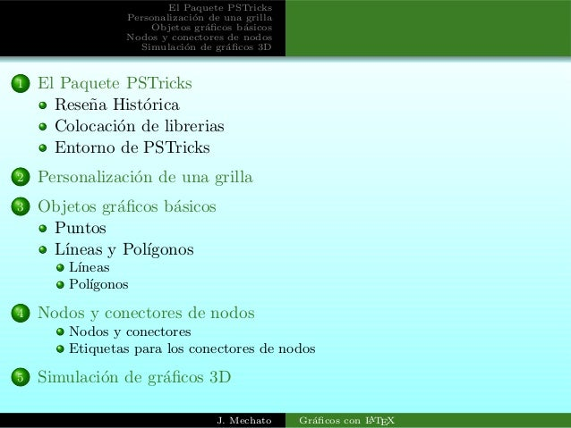 paquete pstricks