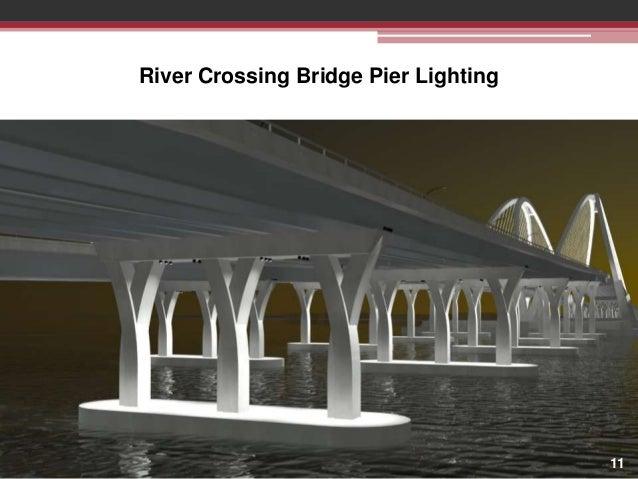 River Crossing Bridge Pier Lighting  11