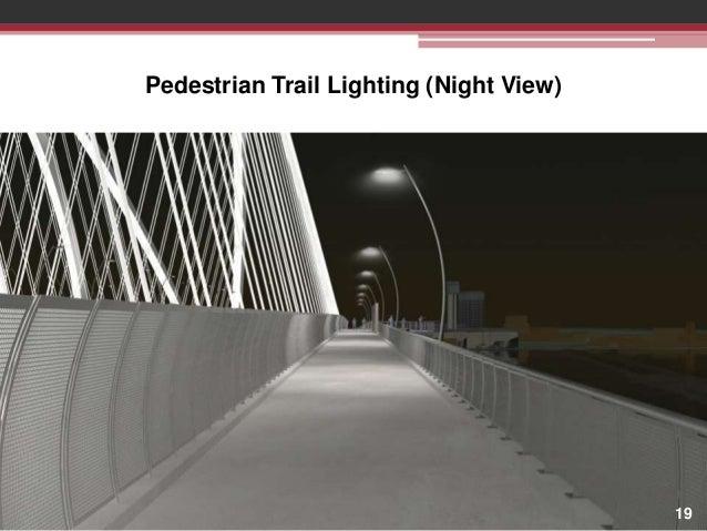 Pedestrian Trail Lighting (Night View)  19