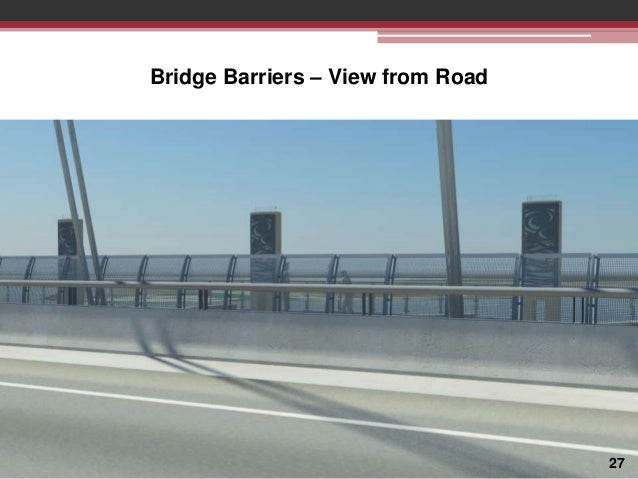 Bridge Barriers – View from Road  27