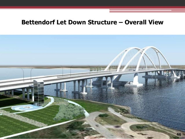 Bettendorf Let Down Structure – Overall View  46