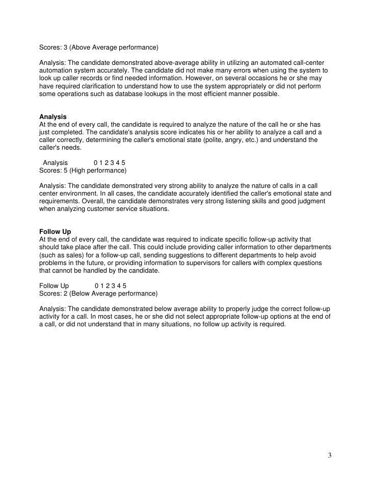 Call Center - Customer Service Scenarios Slide 3