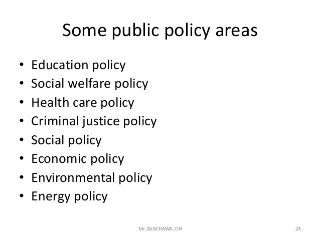 Examples Of Social Policy >> Public Policy An Introduction