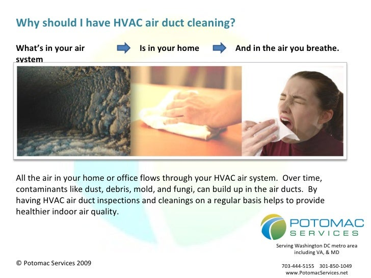 What's in your air system Is in your home And in the air you breathe. Why should I have HVAC air duct cleaning? All the ai...