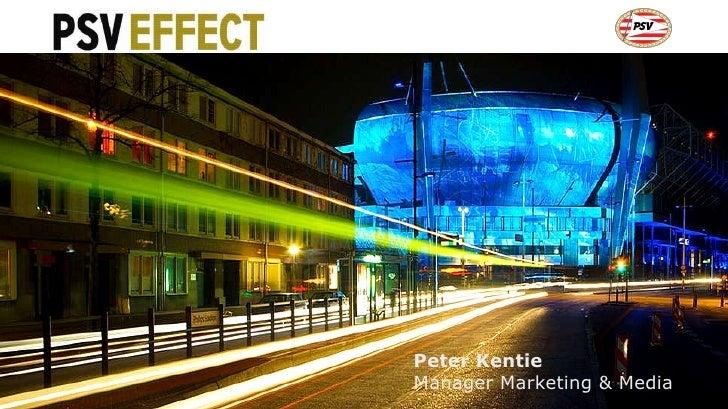 Peter Kentie Manager Marketing & Media