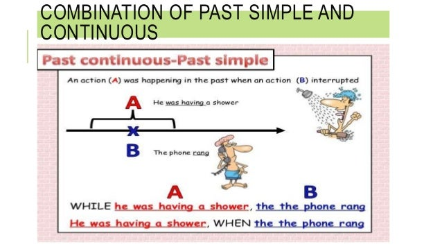 simple past vs past progressive Read about the past continuous and past simple tenses and then do the exercise 1 the most common use of the past continuous tense is to talk about something that was happening around a.