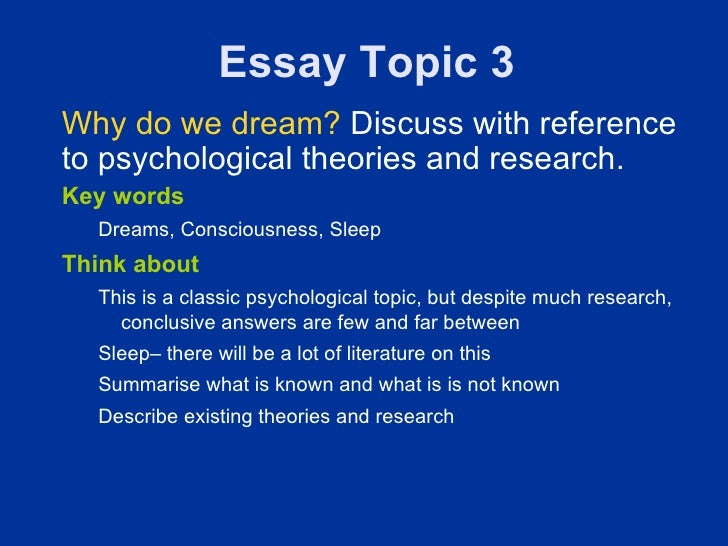 PSYCHOLOGY ARTICLES ON DREAMS DOWNLOAD