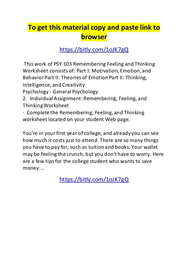 GRE Psychology Test Practice Book moreover Grief   Loss Therapy Worksheets   Handouts   Psychology Tools together with Psychology   Albright College furthermore High Psychology Worksheets Team Free High Psychology also High Anatomy and Physiology Worksheets Fresh Anatomy and additionally Solved  Psy 1105 Chapter 14  Psychological Disorders Works in addition High Psychology Worksheets The best worksheets image further Writing An Introduction Paragraph Worksheet Middle To together with  as well Psychological Disorders Worksheet Answers   Briefencounters moreover Undergraduate Degrees additionally Psy 103 remembering feeling and thinking worksheet moreover  furthermore MSU Psychology further Answer Key in addition . on psychology worksheets for college students