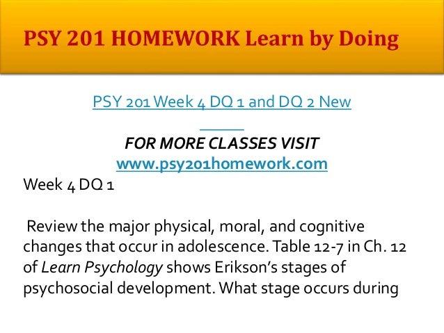 Psy 201 week 7 testing intelligence