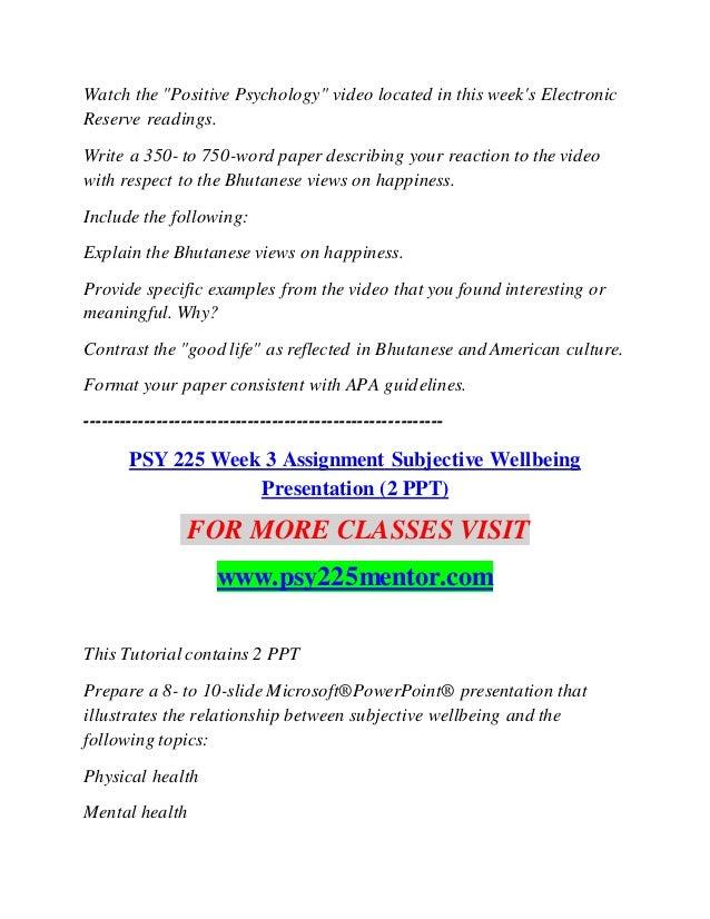 PSY 225 MENTOR Inspiring Innovation--psy225mentor com