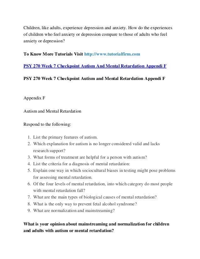 PSY 322 Week 4 DQ 1