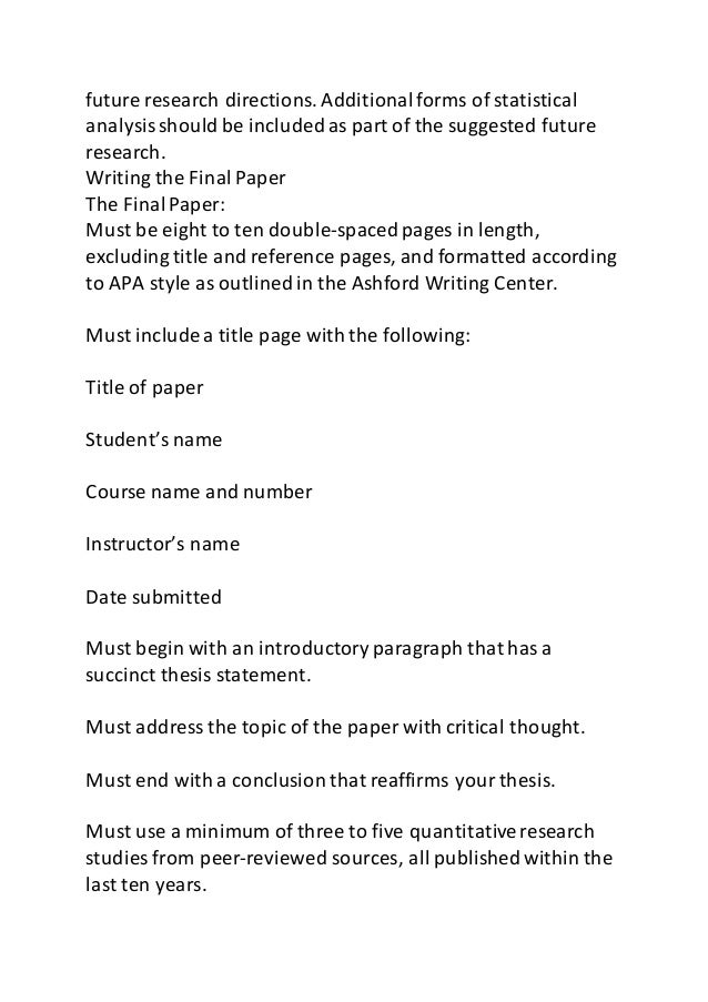 psy 325 week 5 final paper Psy325 / psy 325 / week 1 final paper topic proposal final paper topic proposal for the final paper, you will identify three to five research studies from peer-reviewed sources that were published within the last ten years, which investigate a particular social science problem or topic.