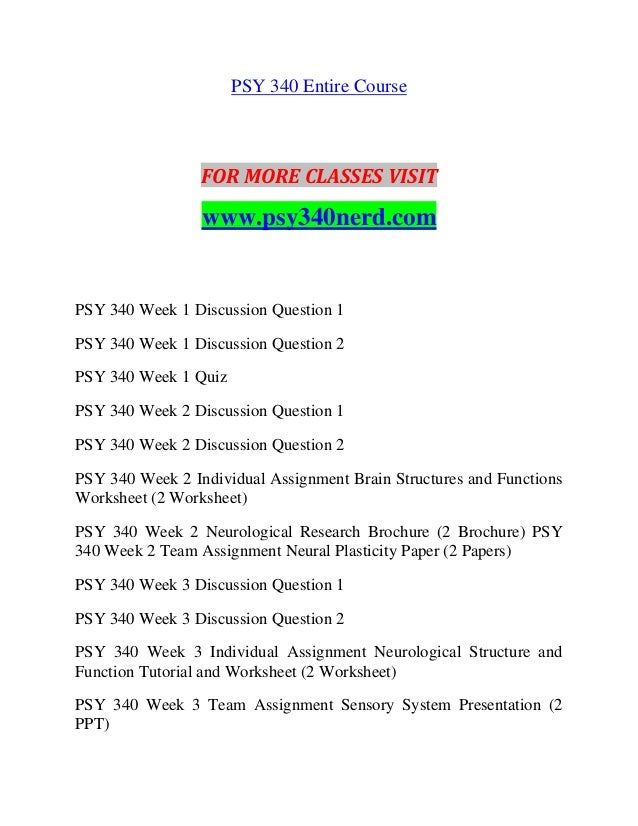 Psy 340 week 1 biological psychology paper best course work proofreading service for masters