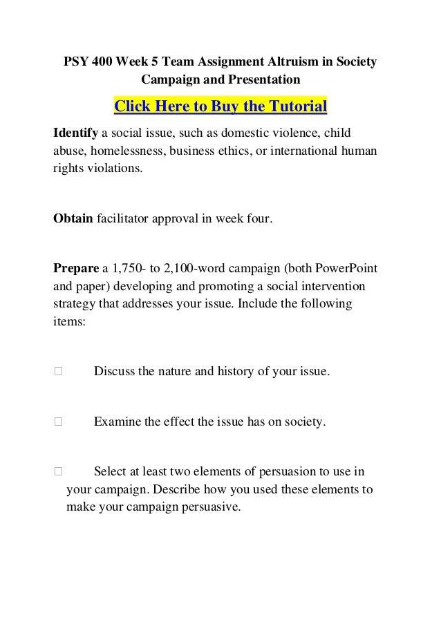 ALTRUISM - PowerPoint PPT Presentation