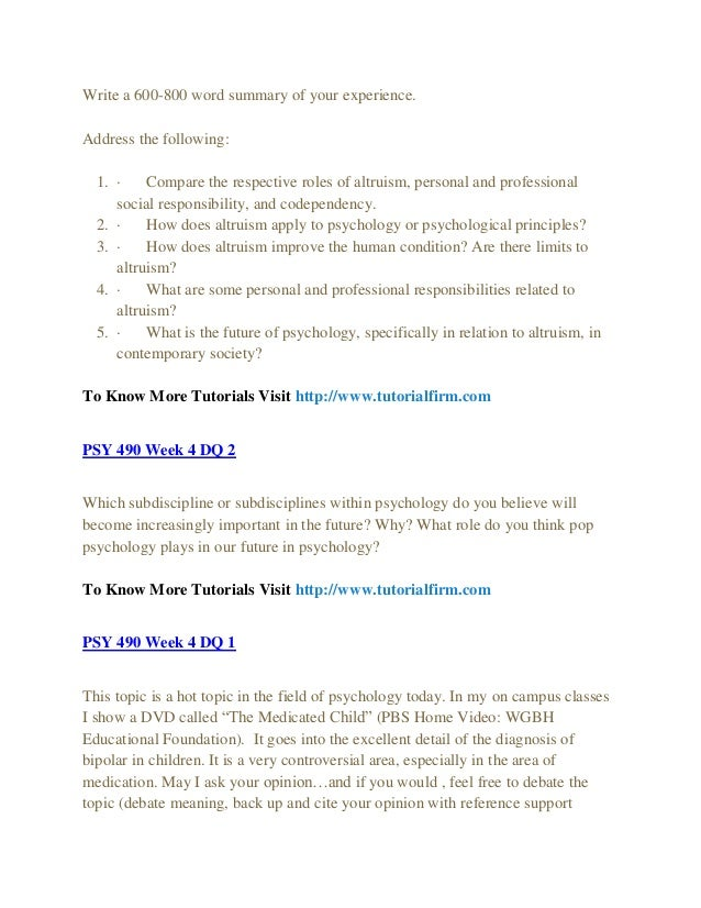 compare the respective roles of altruism personal and professional social responsibility and codepen How does altruism apply to psychology or psychological principles altruism address the following: 1 compare the respective roles of altruism, personal and professional social responsibility, and codependency.