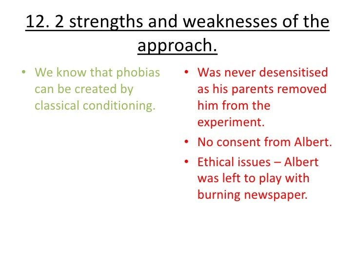 classical treatment strengths and additionally weaknesses