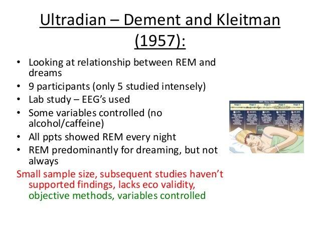 dement & Kleitman - William Dement and nathaniel ...