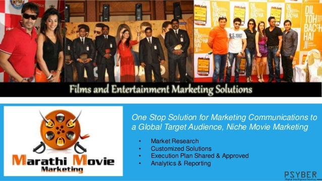 Psyber Technologies - Movie & Celebrity Marketing Services Slide 2