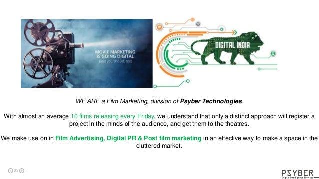 Psyber Technologies - Movie & Celebrity Marketing Services Slide 3