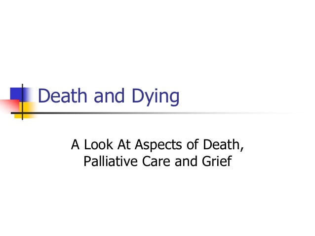 Psychological theories of death and dying