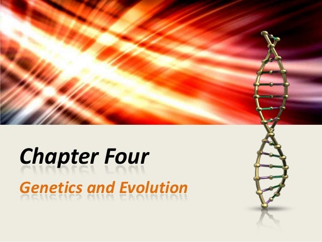 Chapter Four Genetics and Evolution