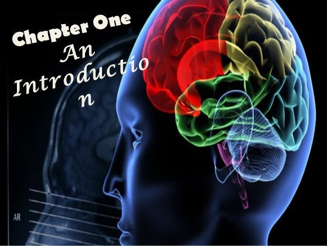 Chapter One An Introductio n